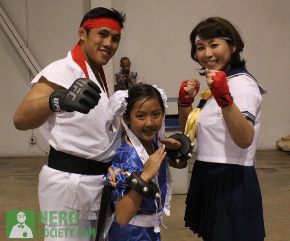 wondercon nam UFCs Nam Phan As Ryu