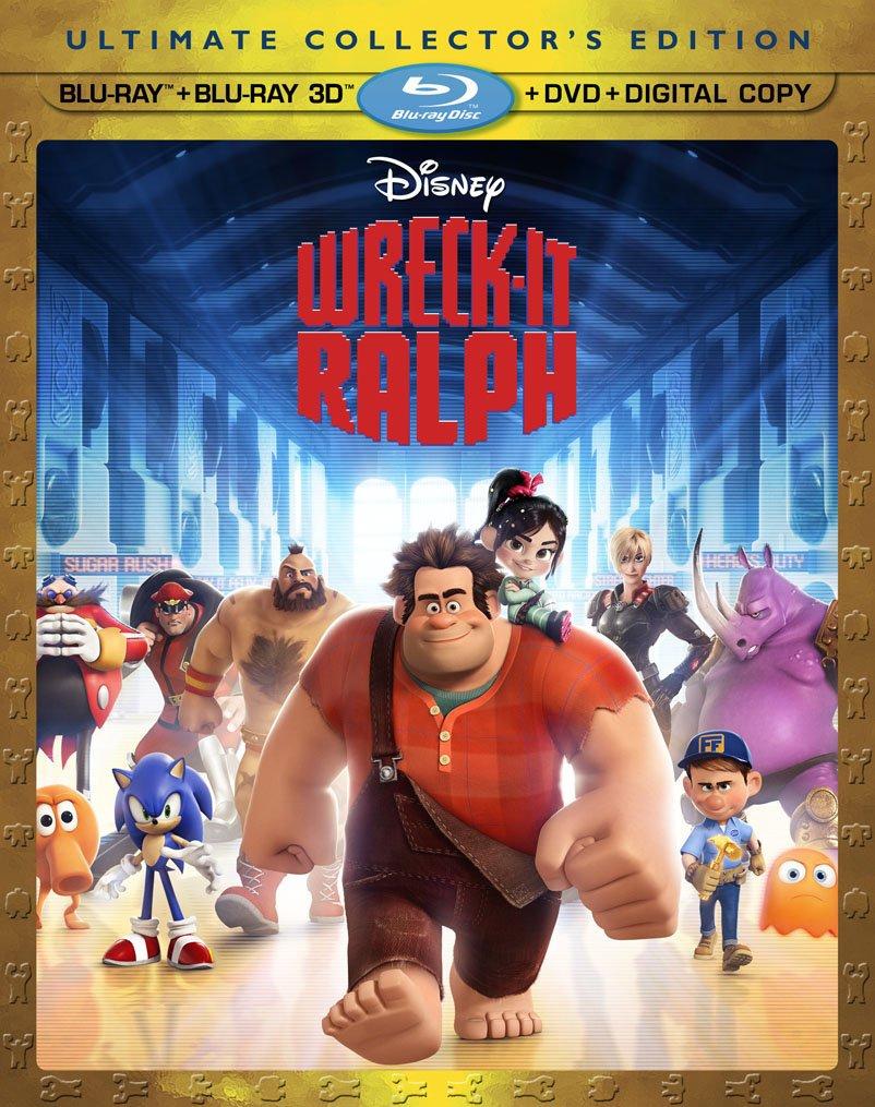 wreck01 Blu Ray Review: Pixars Wreck It Ralph