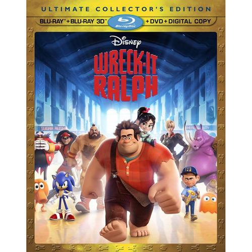 wreckit Wreck It Ralph 3D Blu Ray Free Giveaway