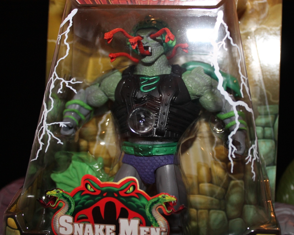 0021 Masters of the Universe Classics: April  Snake Face!