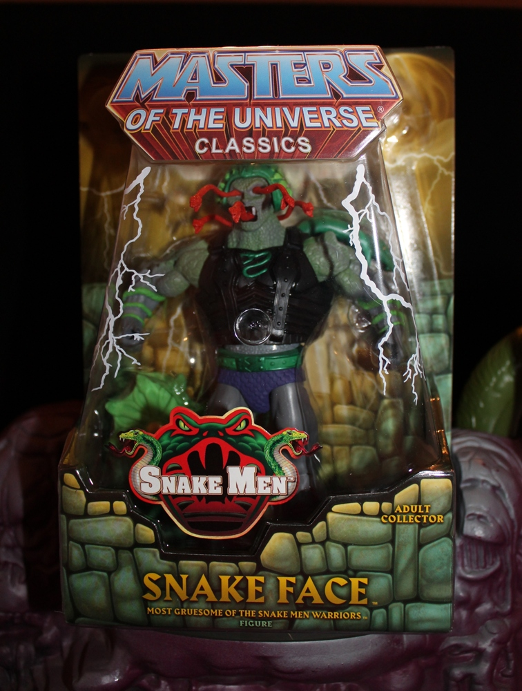 0031 Masters of the Universe Classics: April  Snake Face!