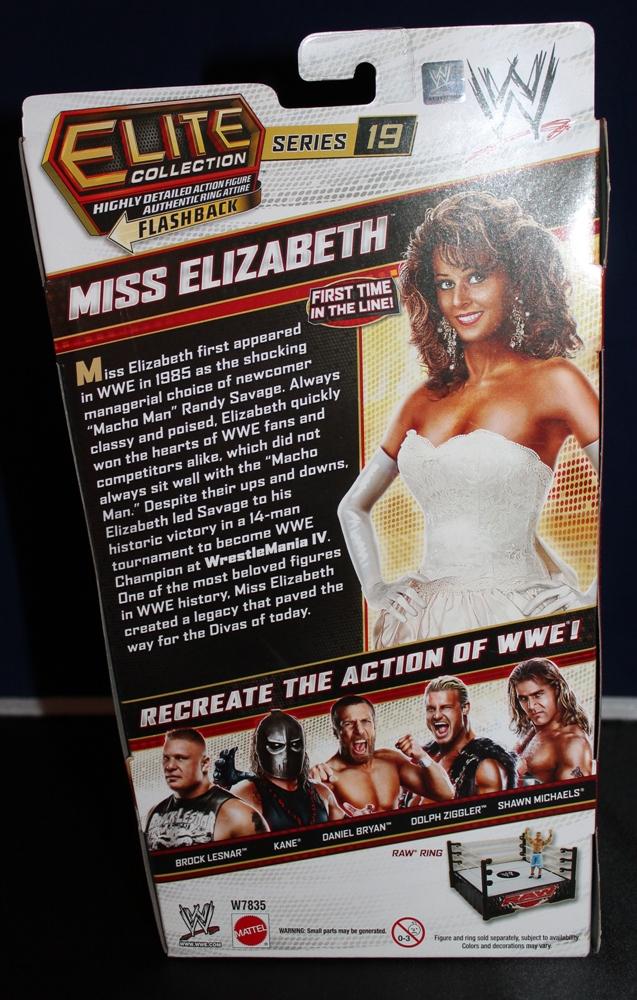 005 Miss Elizabeth WWE Elite Collection
