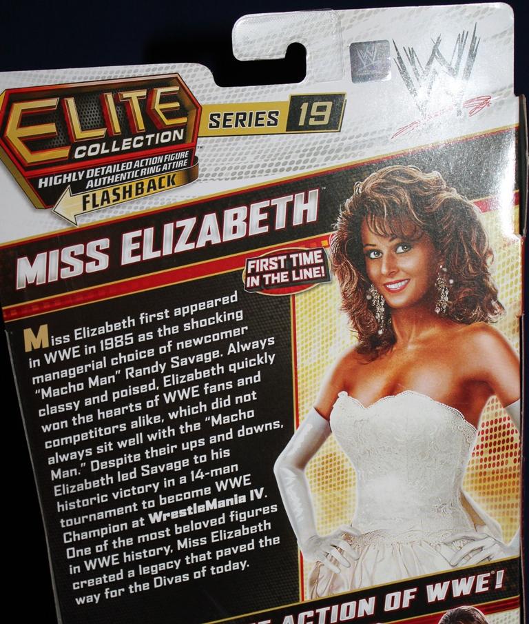 0071 Miss Elizabeth WWE Elite Collection