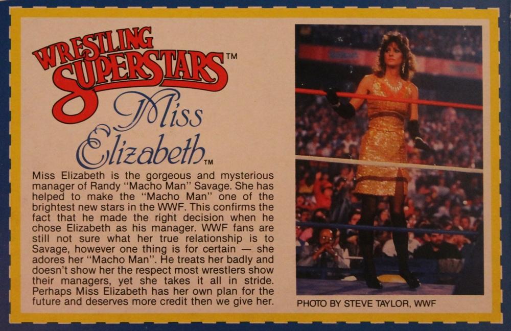 0121 Miss Elizabeth WWE Elite Collection