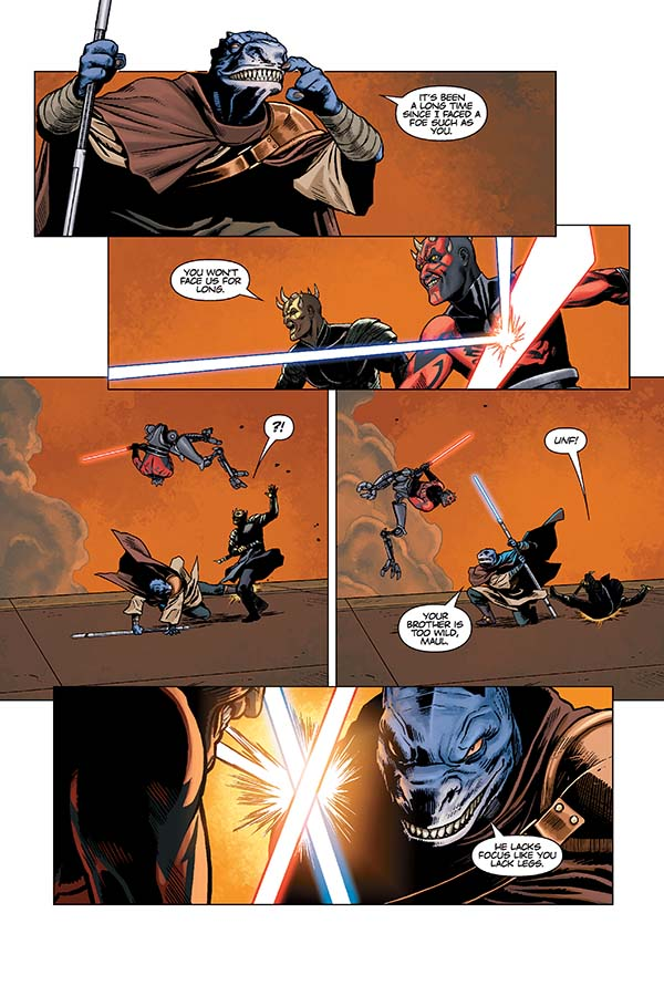 96055f5b06bf9381ac43879351642cf5 Comic Book Review: Star Wars: Darth Maul – Death Sentence