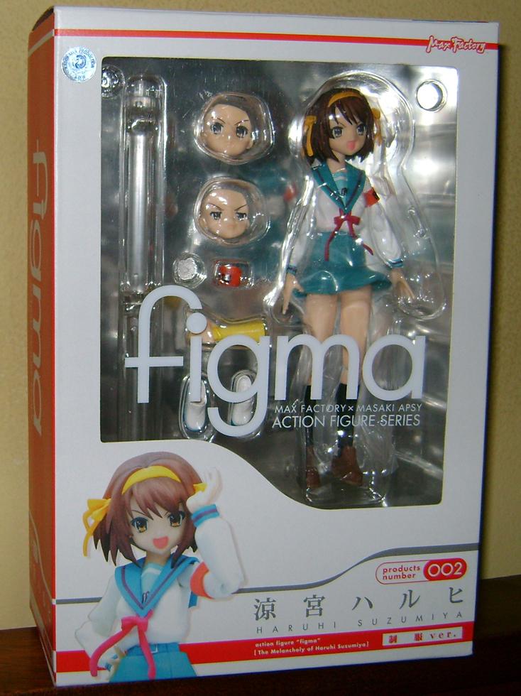 Haruhi 1 Figma Fanatic: Haruhi Suzumiya!