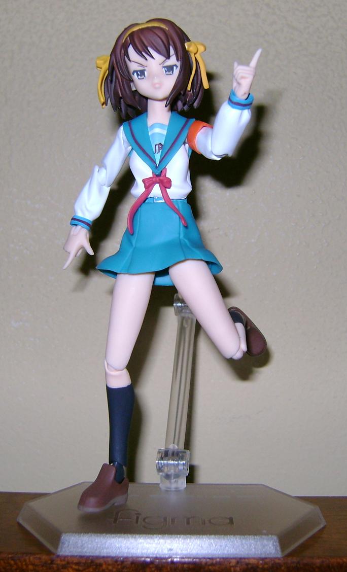 Haruhi 3 Figma Fanatic: Haruhi Suzumiya!