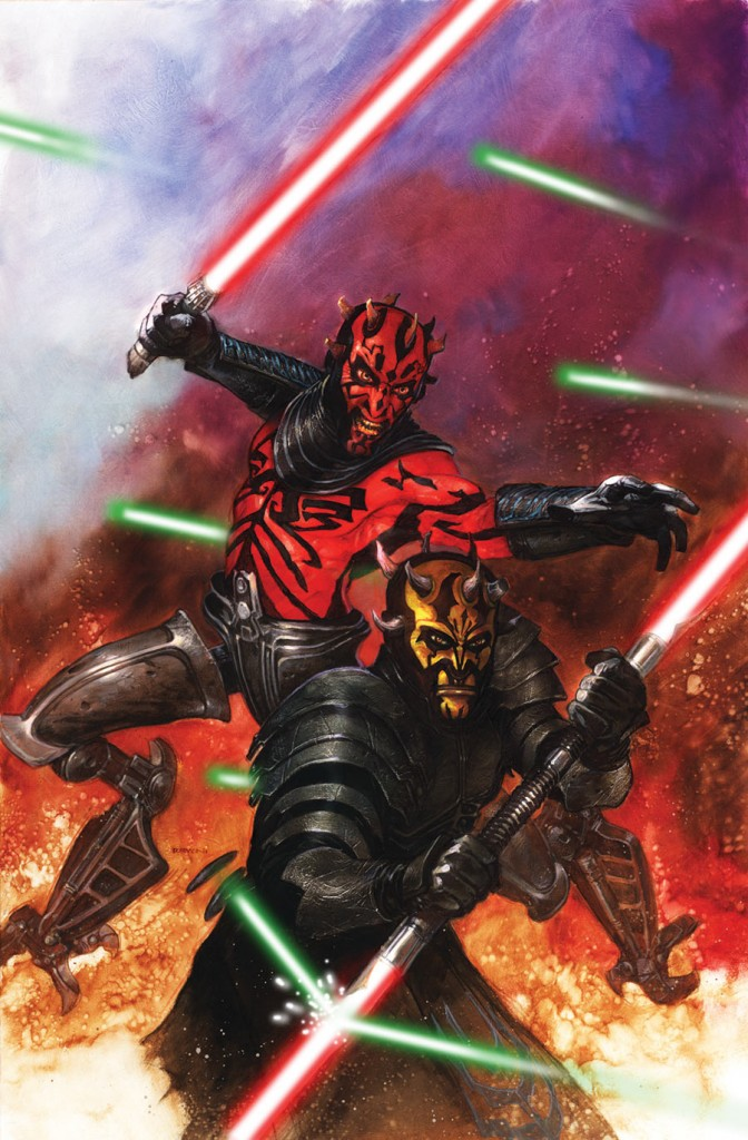 SWDarthMaulDeathSentence2 672x1024 Comic Book Review: Star Wars: Darth Maul – Death Sentence