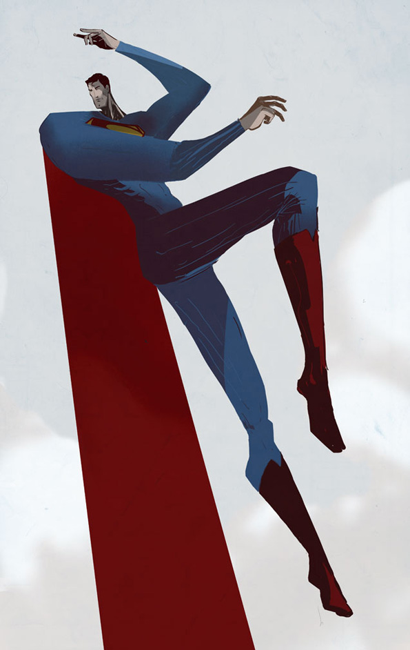 Supes 01 Cool Art Profile: Justin Harder