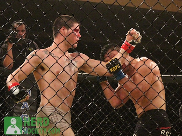 kotc 2013 2 King Of The Cage: Devestation Results