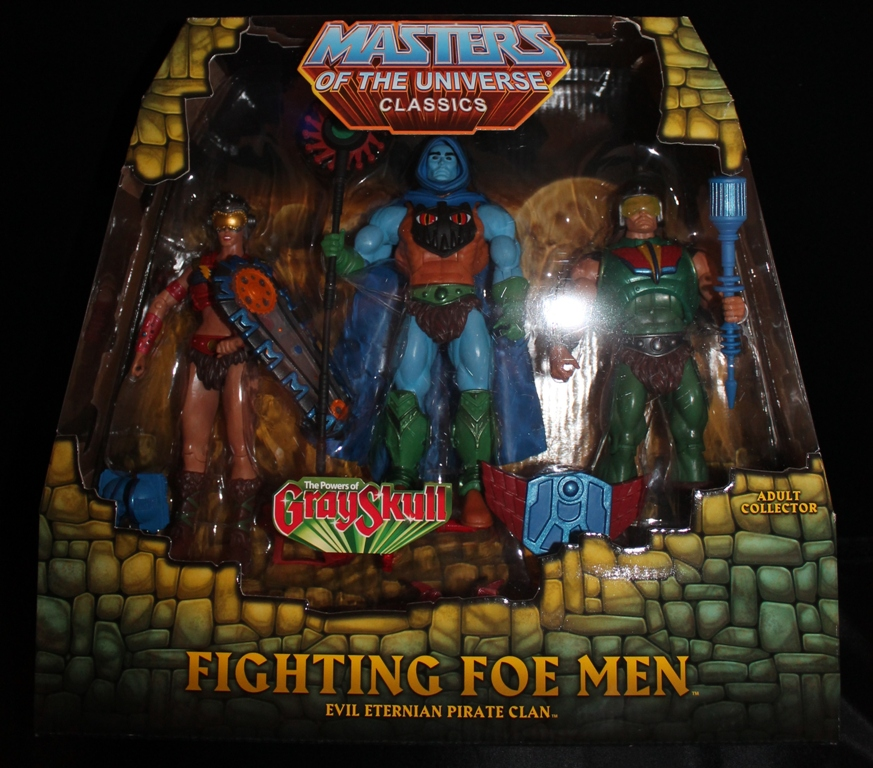003 Masters of the Universe Classics: May  Karatti and The Fighting Foe Men!