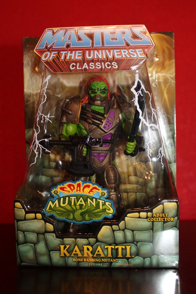 0052 Masters of the Universe Classics: May  Karatti and The Fighting Foe Men!