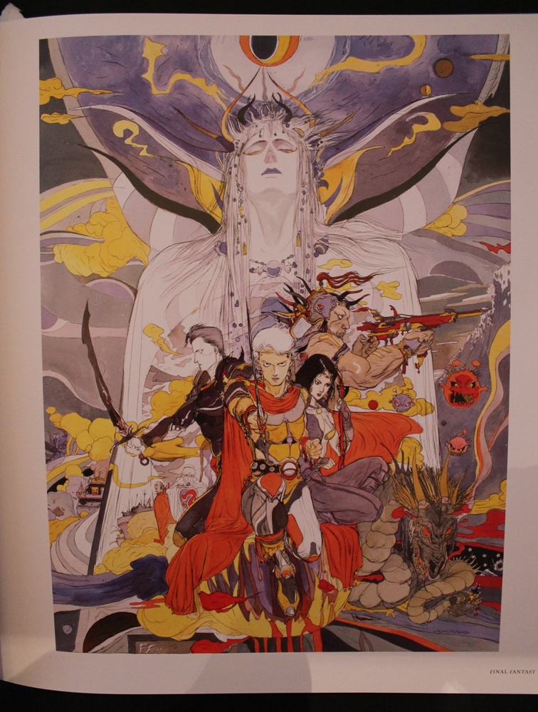 0082 The Sky: The Art of Final Fantasy