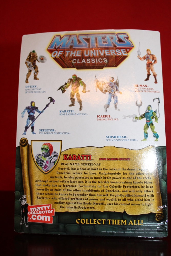 0093 Masters of the Universe Classics: May  Karatti and The Fighting Foe Men!