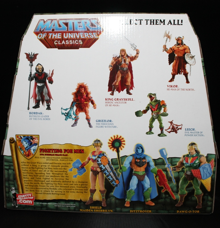 0094 Masters of the Universe Classics: May  Karatti and The Fighting Foe Men!
