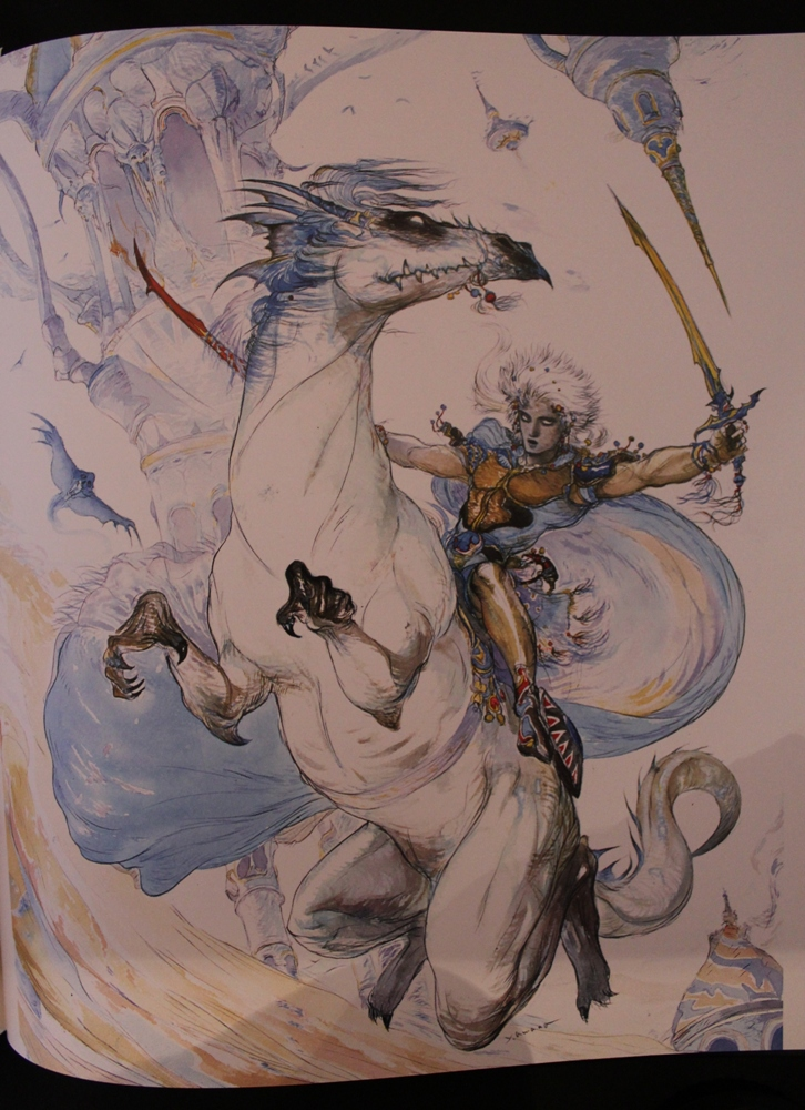 0101 The Sky: The Art of Final Fantasy