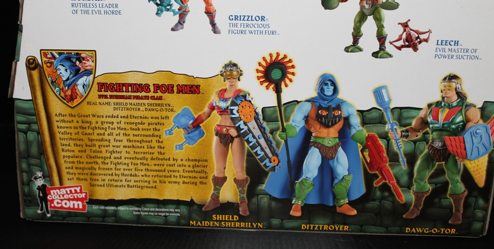 0102 Masters of the Universe Classics: May  Karatti and The Fighting Foe Men!