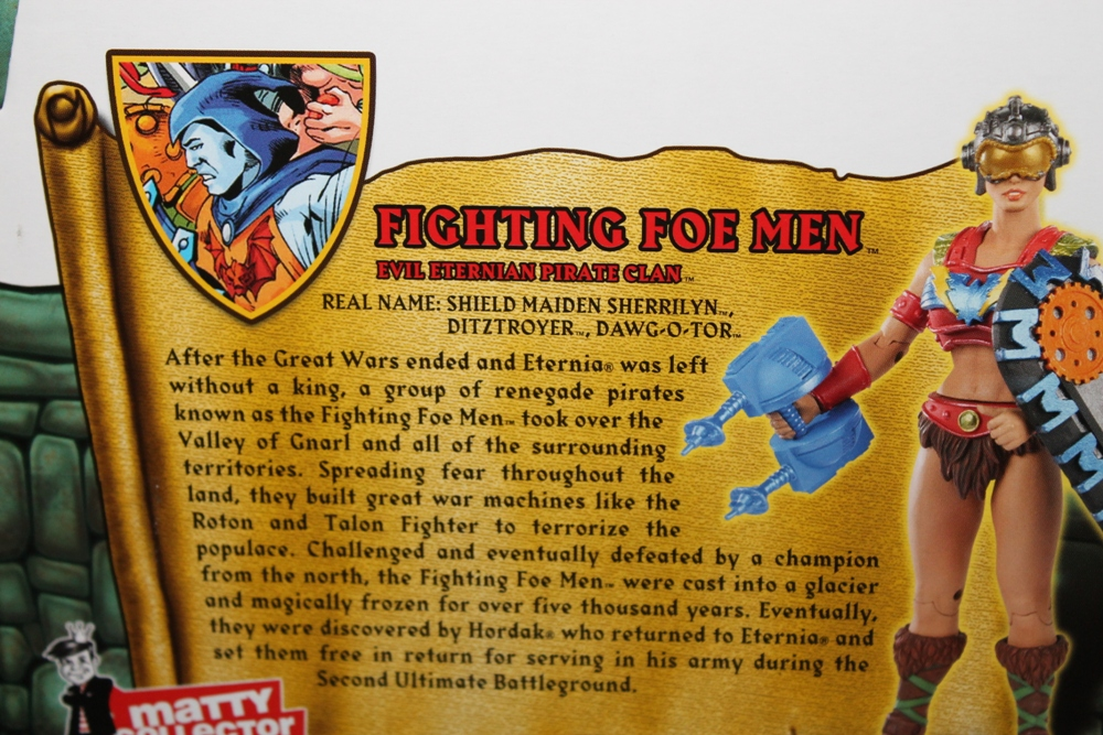 0121 Masters of the Universe Classics: May  Karatti and The Fighting Foe Men!