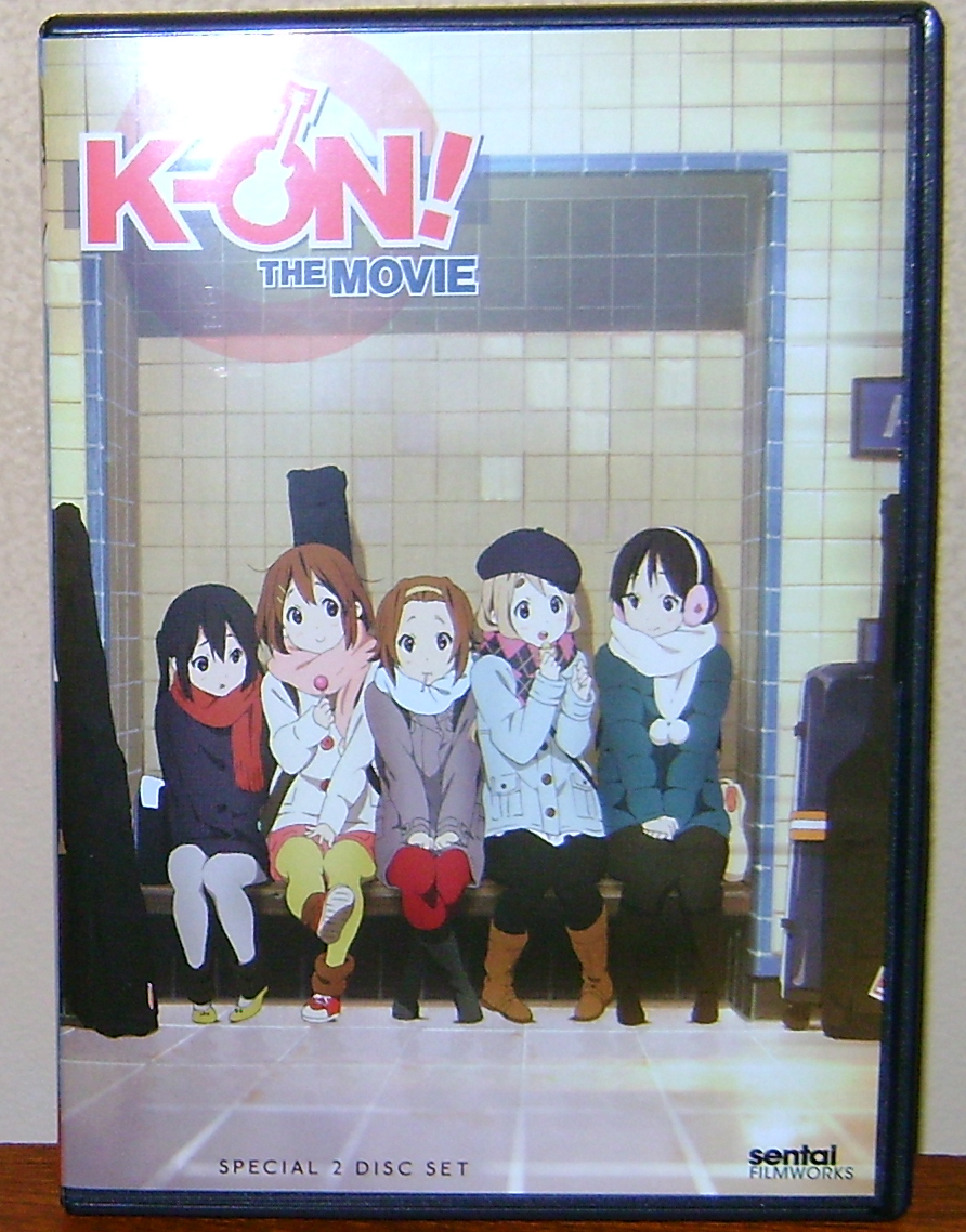 KON Movie1 K ON! The Movie: DVD Review!