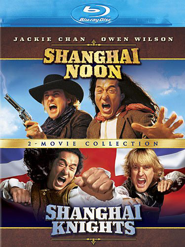 shanghai noon blu ray shanghai knights blu ray Blu ray review: Shanghai Noon/Shanghai Knights