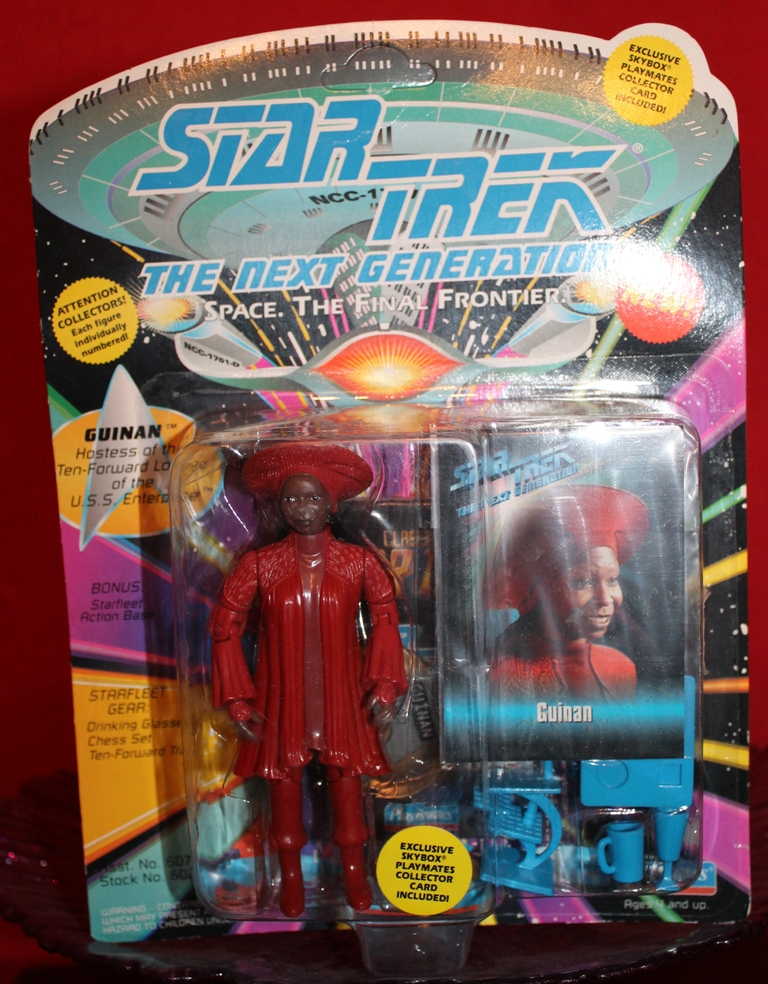 001 Vintage Toy of the Month! Star Trek's Guinan