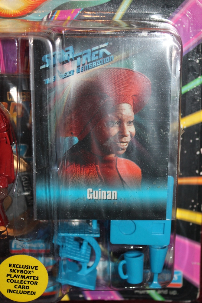 003 Vintage Toy of the Month! Star Trek's Guinan