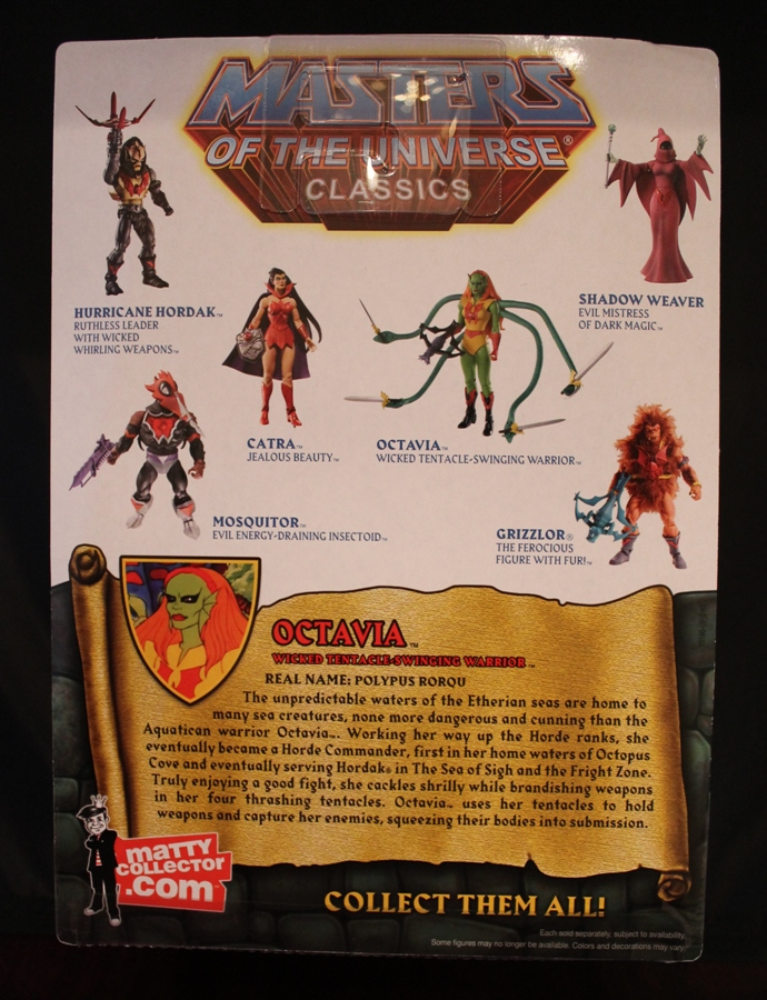 008 Masters of the Universe Classics: June  Octavia!