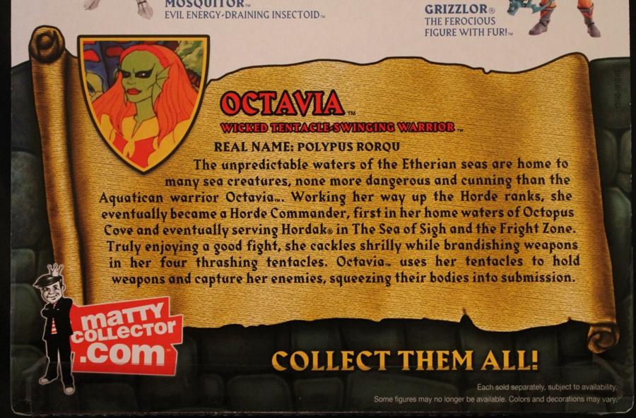 012 Masters of the Universe Classics: June  Octavia!
