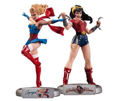 DC Girls Bombshell Statues Artist Profile: DC Bombshells Designer   Ant Lucia
