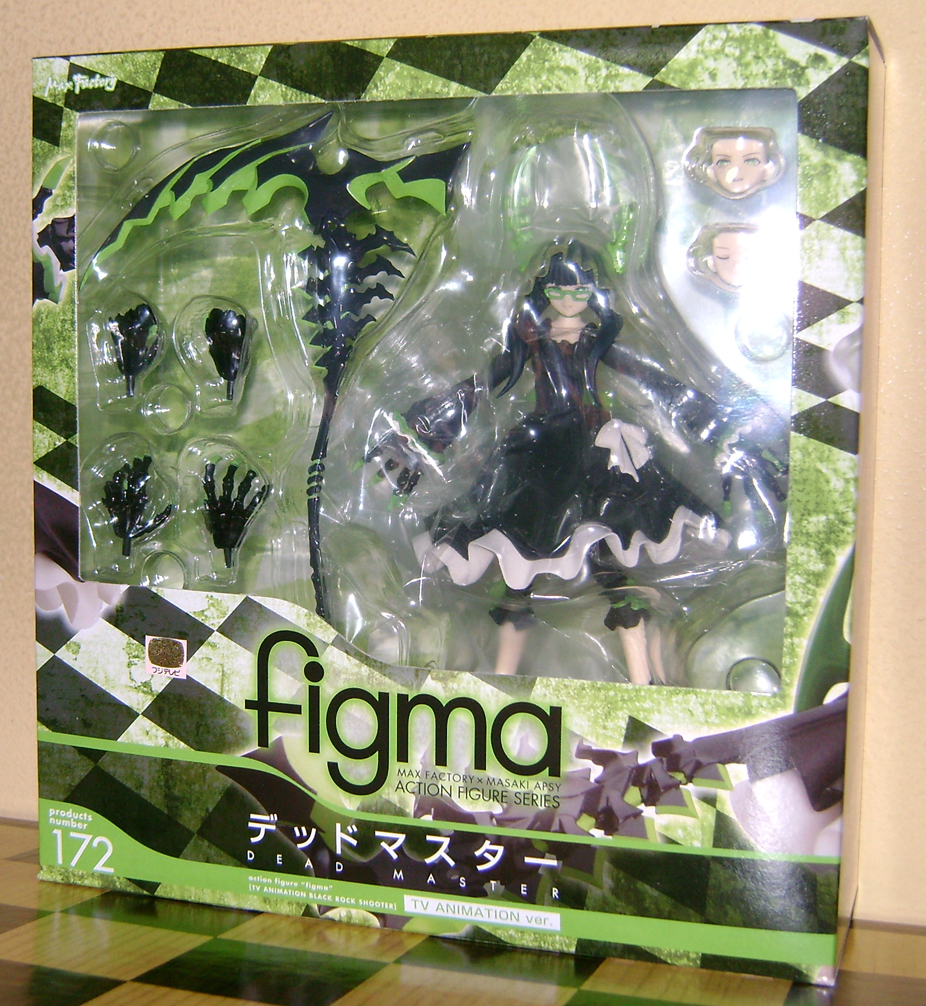 DMTV 1 Figma Fanatic: Dead Master, BRS TV Animation Version!
