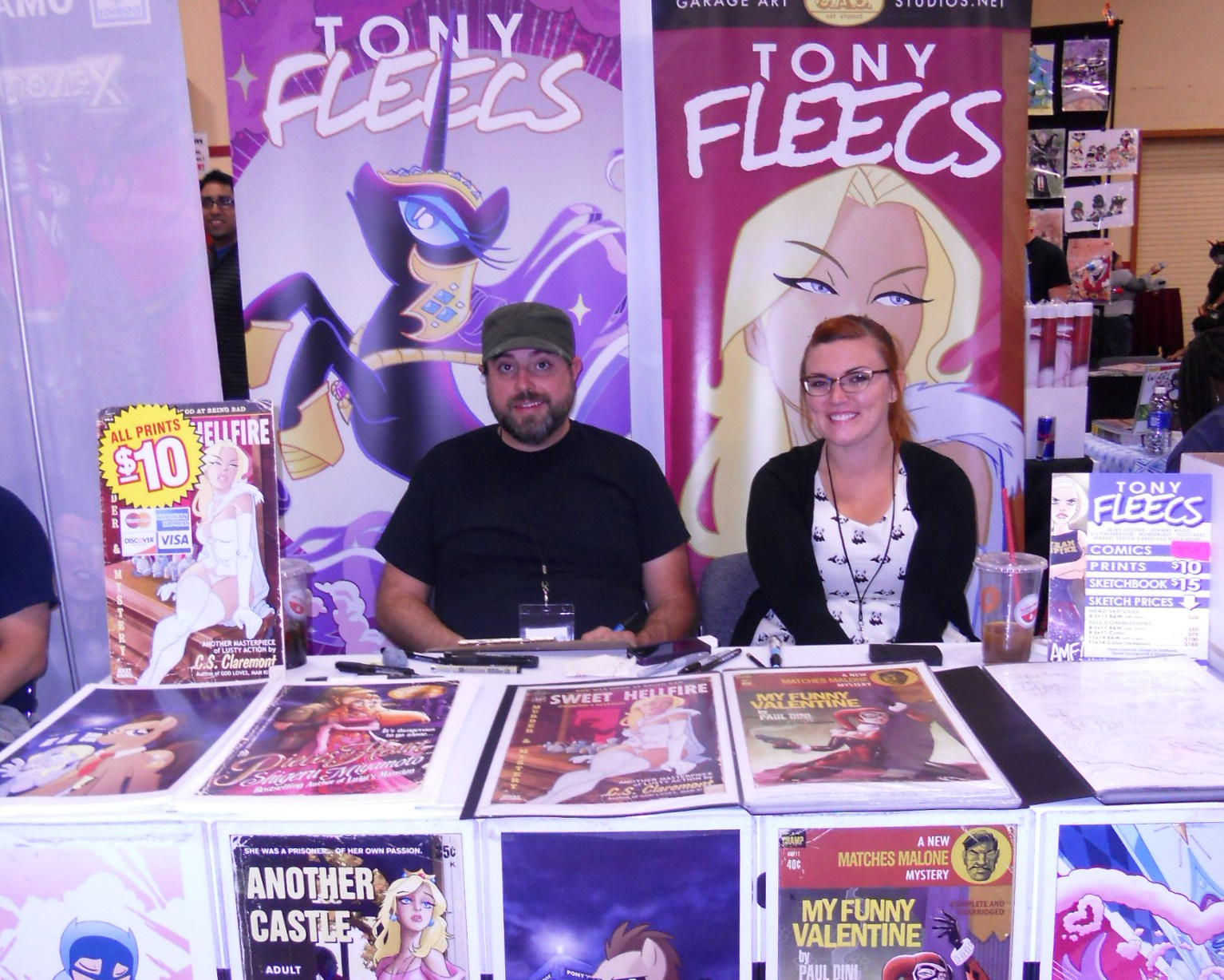 My Little Pony's Tony Fleecs