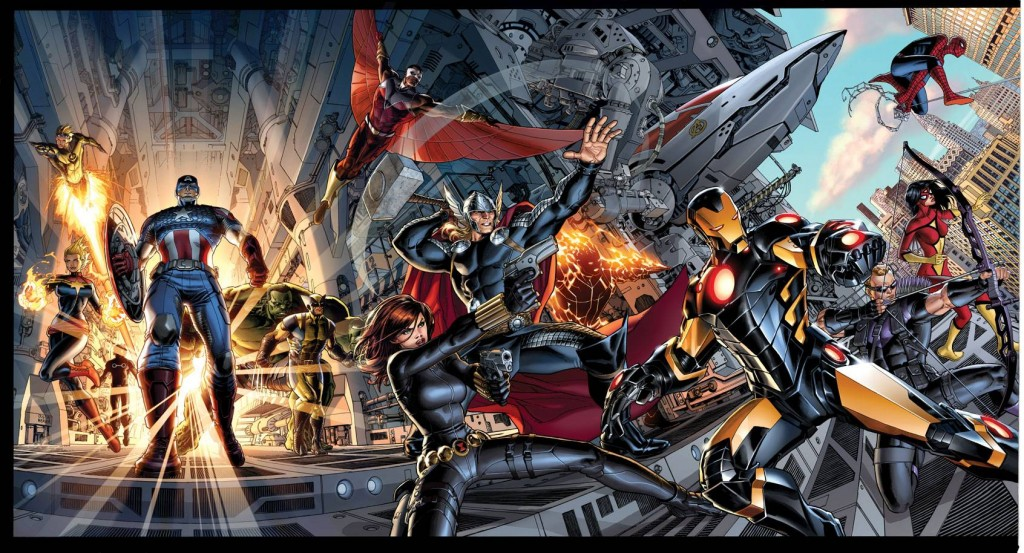 STK517533 1024x553 Comic Book Review: Avengers Vol 1 Avengers World