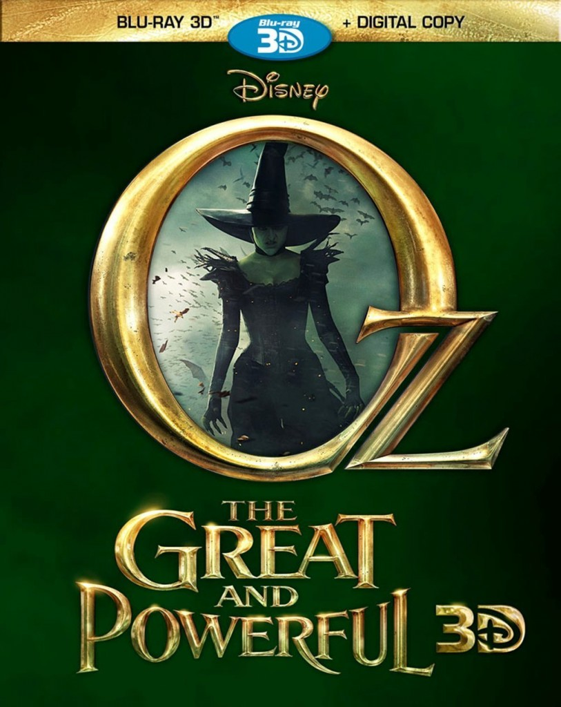 oz 813x1024 Blu Ray Review: Oz The Great And Powerful 3D