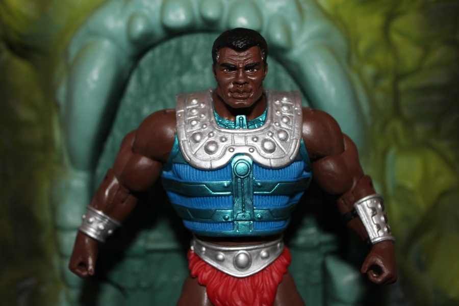 003 Masters of the Universe Classics: July  Clamp Champ & NA He Man