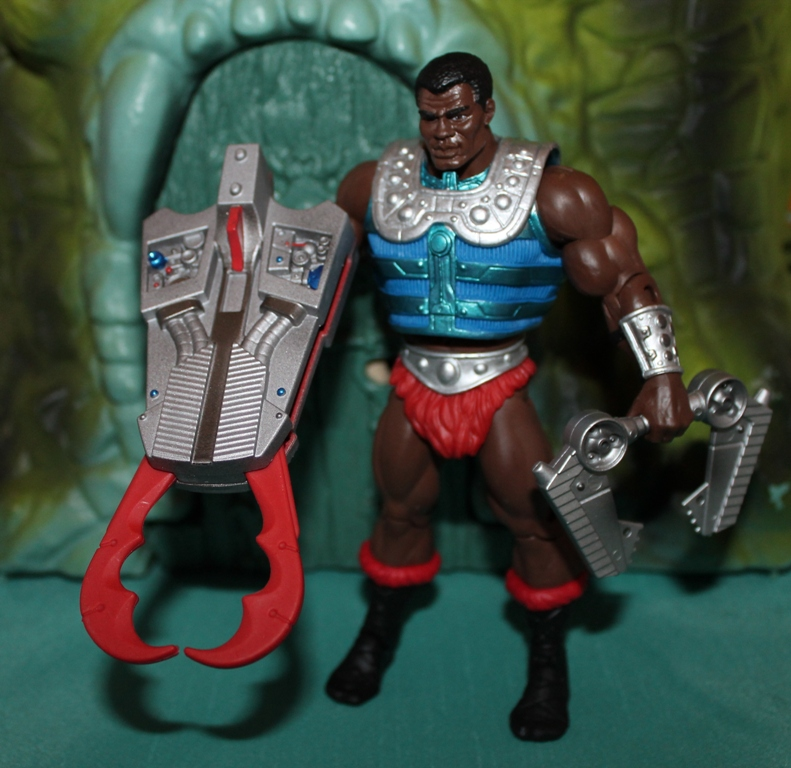 0071 Masters of the Universe Classics: July  Clamp Champ & NA He Man