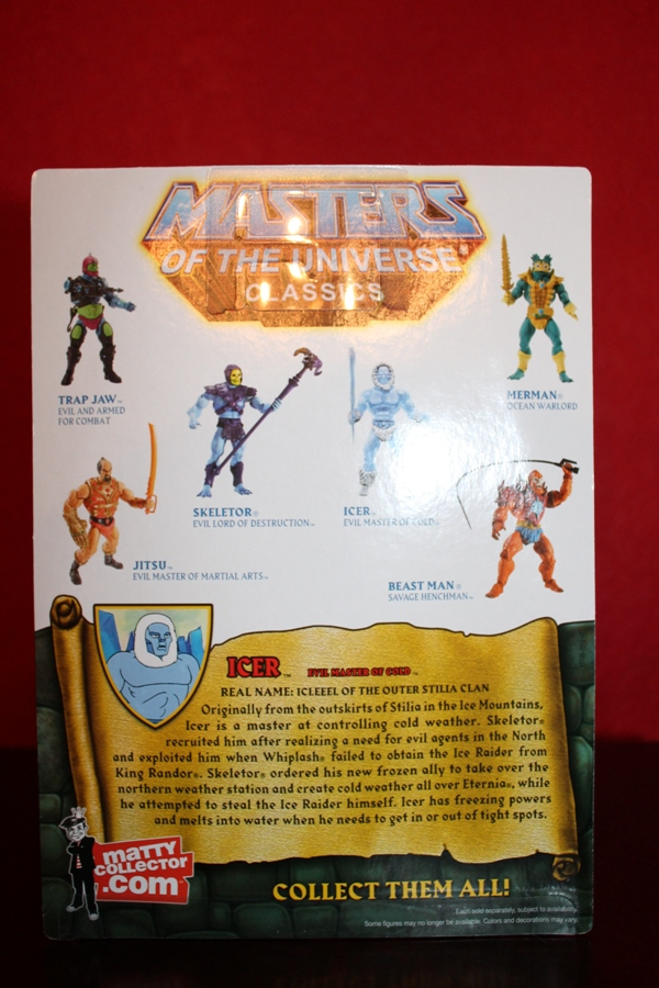 0101 Masters of the Universe Classics Filmation Sub: July  Icer!