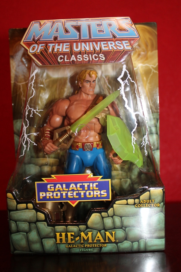 0162 Masters of the Universe Classics: July  Clamp Champ & NA He Man
