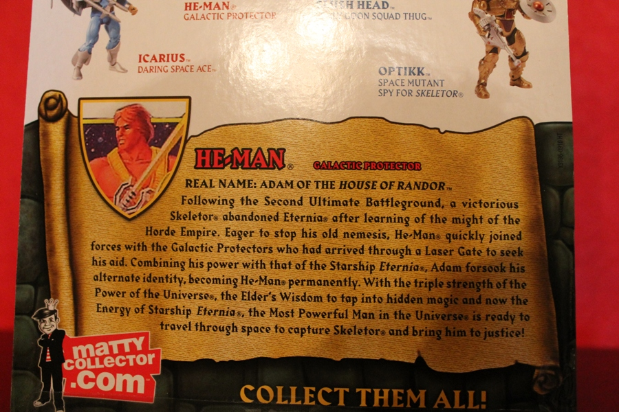 0241 Masters of the Universe Classics: July  Clamp Champ & NA He Man