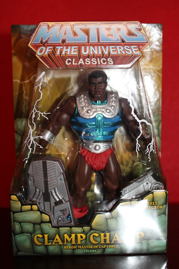 0281 Masters of the Universe Classics: July  Clamp Champ & NA He Man
