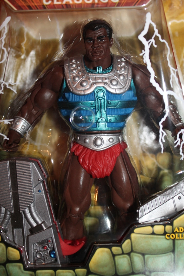0291 Masters of the Universe Classics: July  Clamp Champ & NA He Man