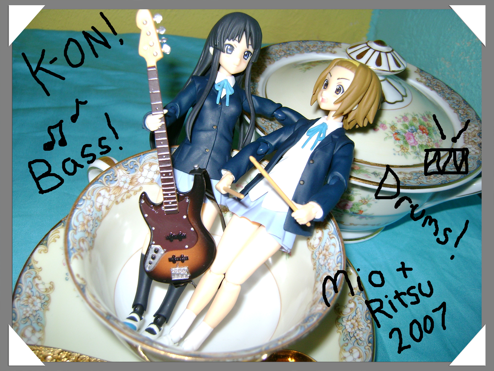 "K-ON!!!!  ""Dust In The Wind"" Fan Fiction: Part 2."