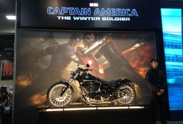 captain america motorcycle comic con winter soldier SDCC: New Motorcycle For Winter Soldier