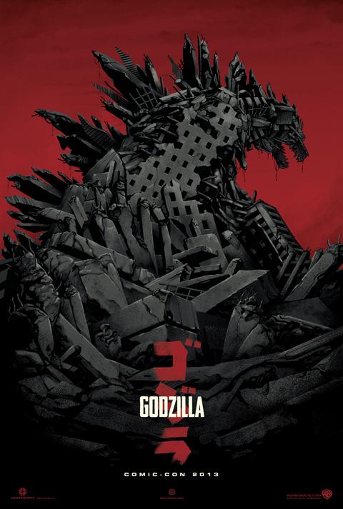 godzilla sdcc poster SDCC   Godzilla Poster