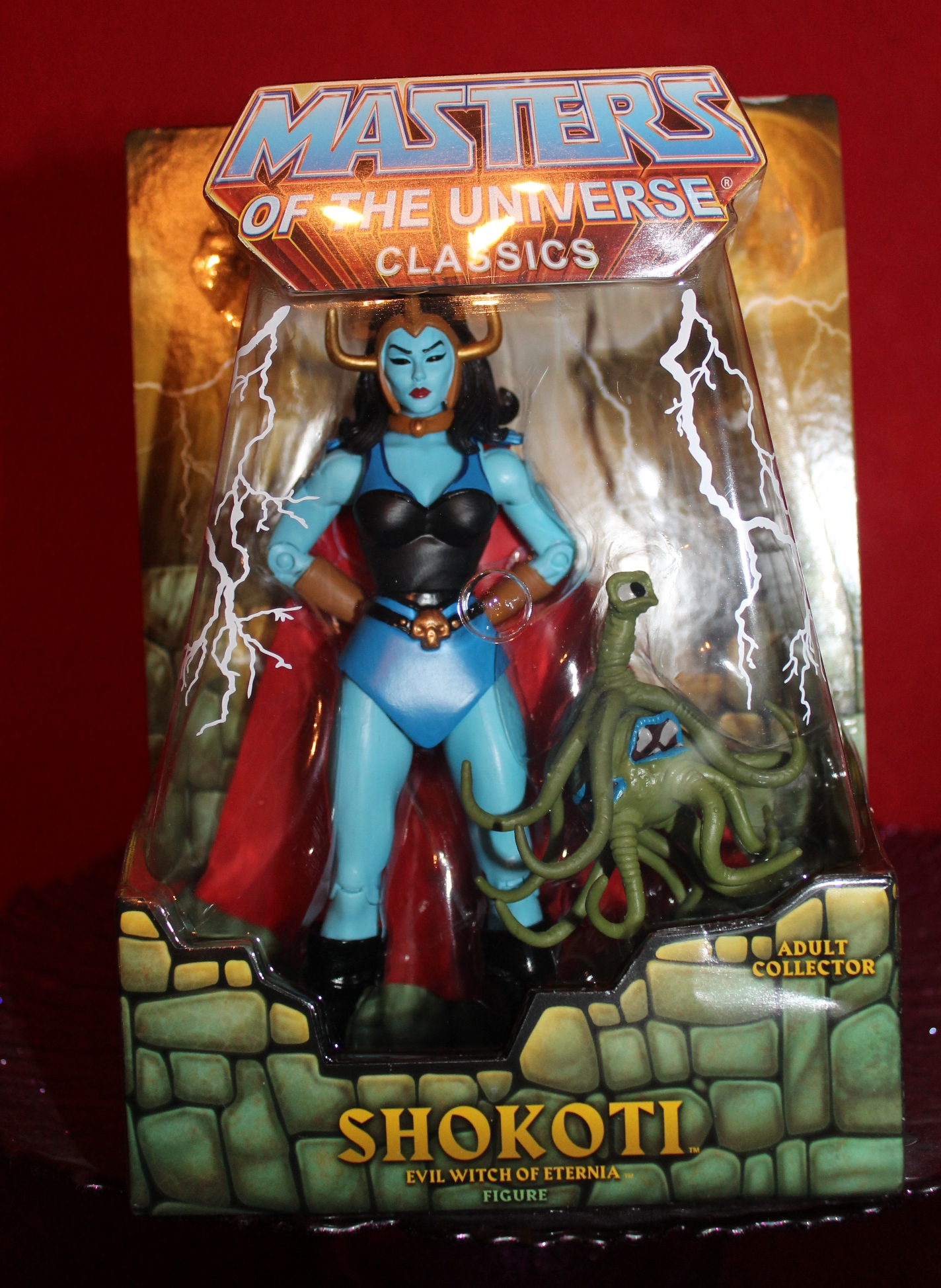 001 Masters of the Universe Classics Filmation Sub: August  Shokoti!