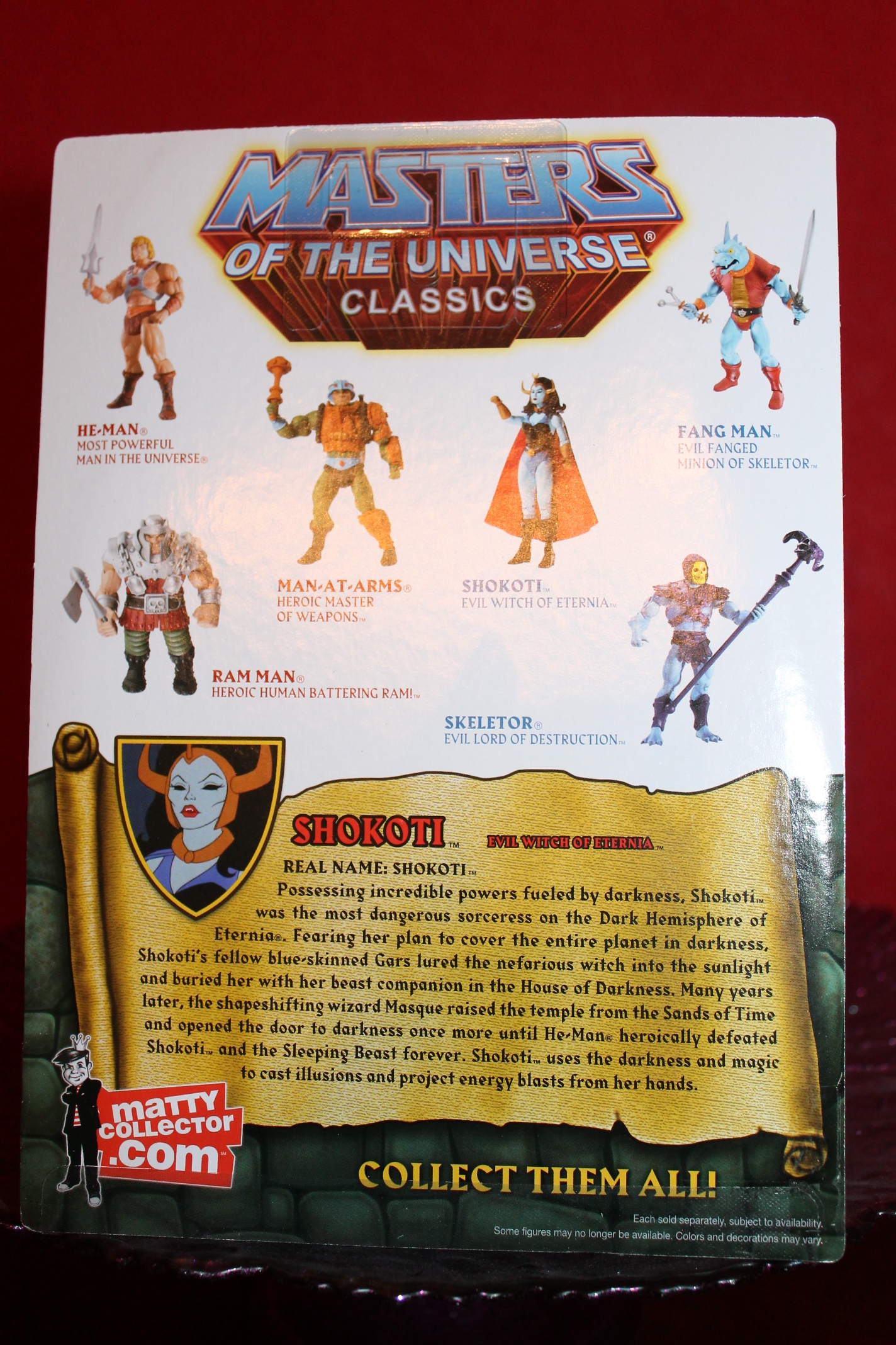005 Masters of the Universe Classics Filmation Sub: August  Shokoti!