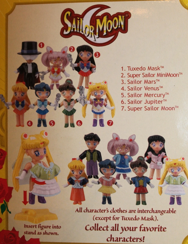 103 Vintage Toy of the Month! Sailor Moon Dressables!