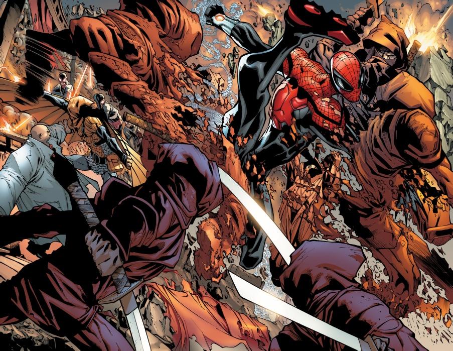 Superior Spider Man 14 interior art Comic Book Review: Superior Spider Man Run, Goblin, Run!
