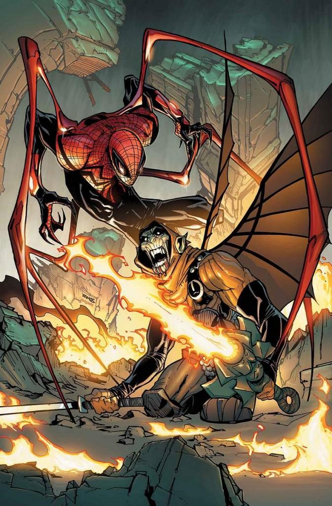 Superior Spider Man Vol 1 15 Textless1 672x1024 Comic Book Review: Superior Spider Man Run, Goblin, Run!