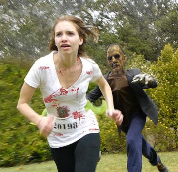 zombie karah v3 Zombie Run Next Saturday At Santa Anita Race Track