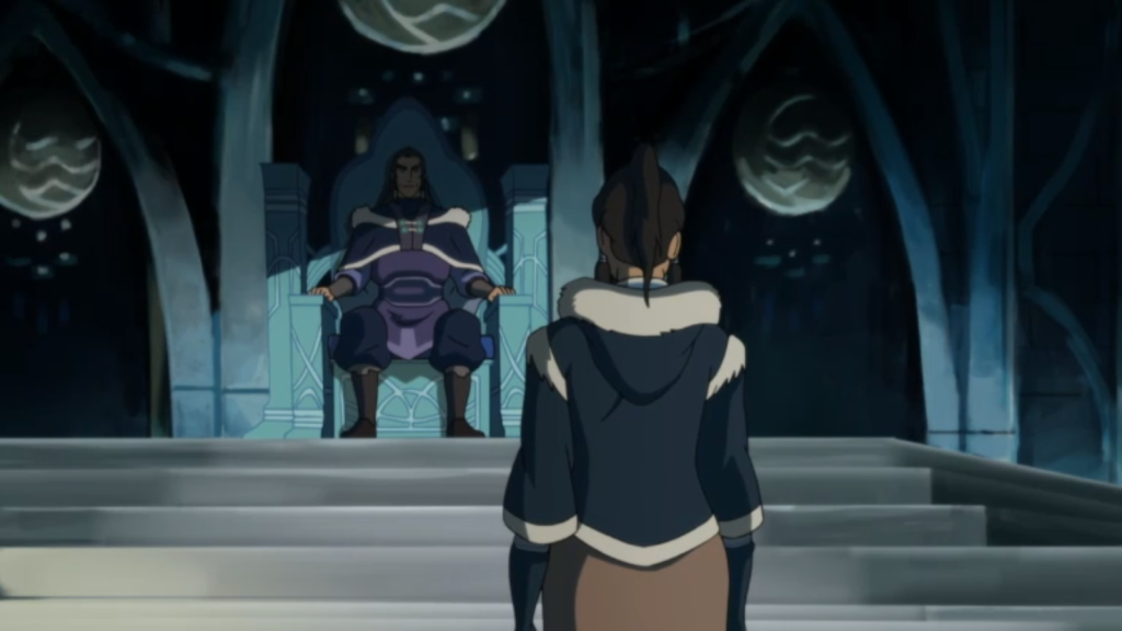Korra and Unalaq 1024x576 TV Review: The Legend of Korra Civil Wars Part 1